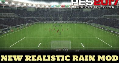 PES 2017 | NEW REALISTIC RAIN MOD FOR ALL STADIUMS