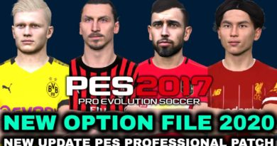 PES 2017 | NEW UPDATE PES PROFESSIONAL PATCH | NEW OPTION FILE 2020
