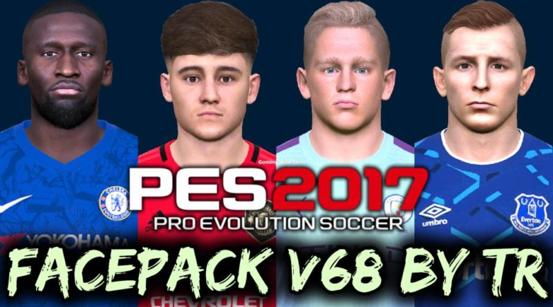 PES 2017 | FACEPACK V68 BY TR