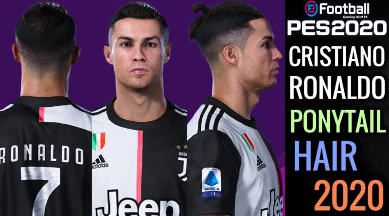PES 2020 | NEW CRISTIANO RONALDO PONYTAIL HAIR 2020