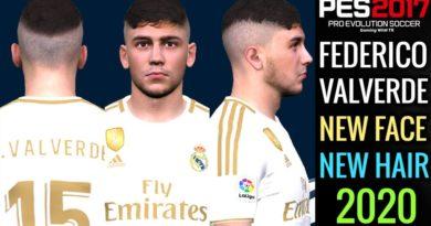 PES 2017 | FEDERICO VALVERDE | NEW FACE & NEW HAIR 2020