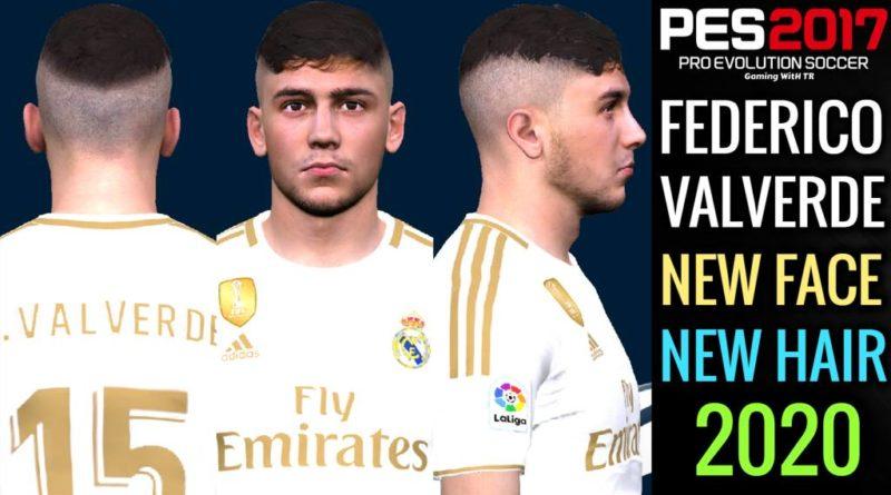 PES 2017   FEDERICO VALVERDE   NEW FACE & NEW HAIR 2020