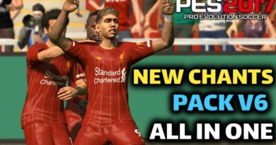 PES 2017 | NEW CHANTS PACK V6 | ALL IN ONE