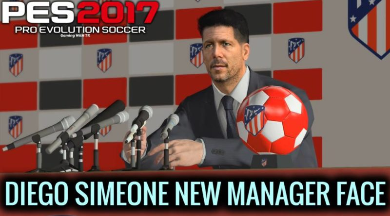 PES 2017 | DIEGO SIMEONE | NEW MANAGER FACE