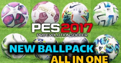 PES 2017 | NEW BALLPACK | ALL IN ONE