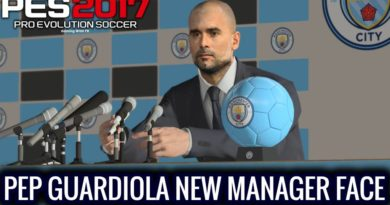 PES 2017 | PEP GUARDIOLA | NEW MANAGER FACE