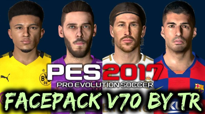 PES 2017 | FACEPACK V70 BY TR