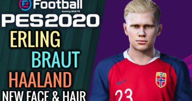 PES 2020   ERLING BRAUT HAALAND   NEW FACE & NEW HAIR