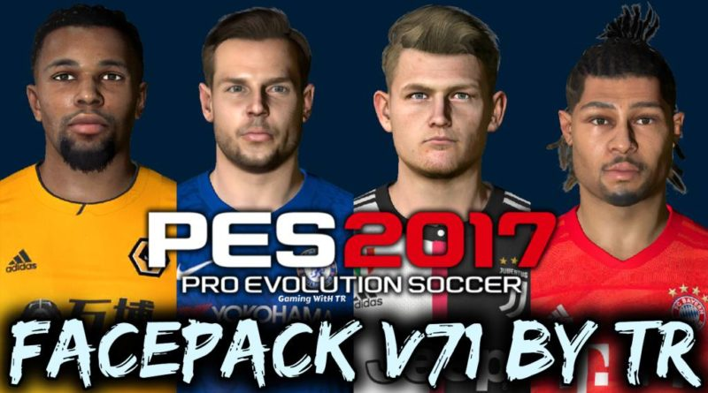 PES 2017 | FACEPACK V71 BY TR