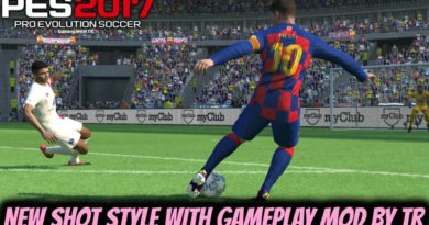 PES 2017 | NEW SHOT STYLE WITH REALISTIC GAMEPLAY MOD BY TR