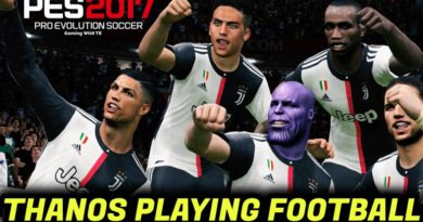 PES 2017 | THANOS PLAYING FOOTBALL | THANOS FACE FREE DOWNLOAD