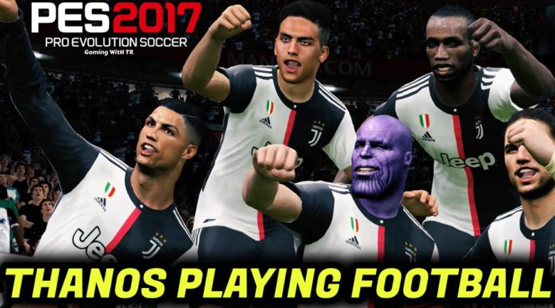 PES 2017   THANOS PLAYING FOOTBALL   THANOS FACE FREE DOWNLOAD
