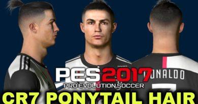PES 2017 | LATEST CRISTIANO RONALDO PONYTAIL HAIR