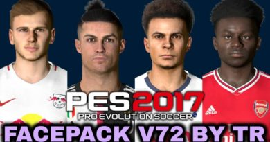 PES 2020 | NEW FACEPACK V7 BY TR