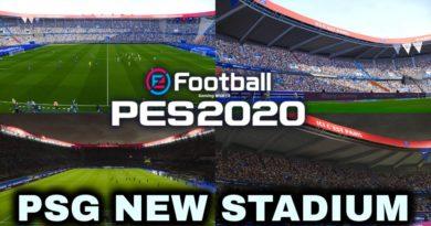 PES 2020 | PSG NEW STADIUM | LE PARC DES PRINCES 2020