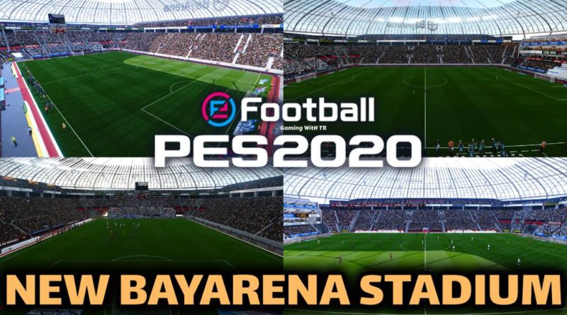 PES 2020 | NEW BAYARENA STADIUM | BAYER LEVERKUSEN HOME GROUND