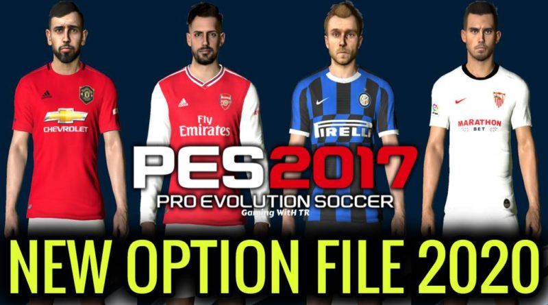 PES 2017 | NEW OPTION FILE 2020 | PES PROFESSIONAL PATCH | DOWNLOAD & INSTALL