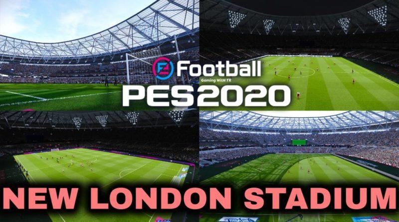 PES 2020   NEW LONDON STADIUM   WEST HAM HOME GROUND 2020   DOWNLOAD & INSTALL