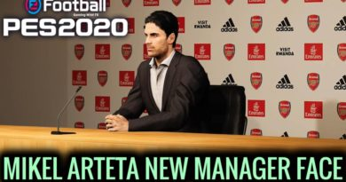 PES 2020 | MIKEL ARTETA | NEW MANAGER FACE