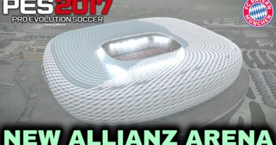 PES 2017 | NEW ALLIANZ ARENA | BAYERN MUNICH HOME GROUND | DOWNLOAD & INSTALL