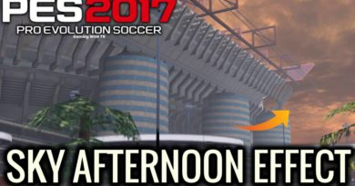 PES 2017 | SKY AFTERNOON EFFECT