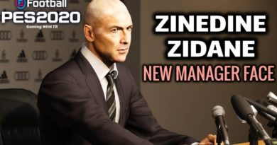 PES 2020 | ZINEDINE ZIDANE | NEW MANAGER FACE