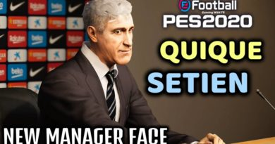 PES 2020 | QUIQUE SETIEN | NEW MANAGER FACE