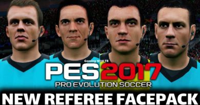 PES 2017 | NEW REFEREE FACEPACK