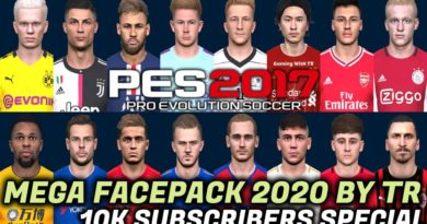 PES 2017 | NEW MEGA FACEPACK 2020 BY TR | 10K SUBSCRIBERS SPECIAL | 700+ NEW FACES