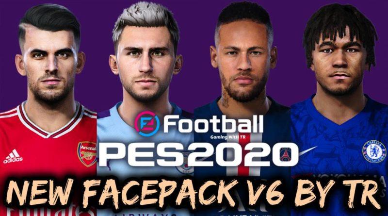 PES 2020 | NEW FACEPACK V6 BY TR