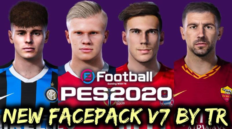 PES 2020 | NEW FACEPACK V7 BY TR