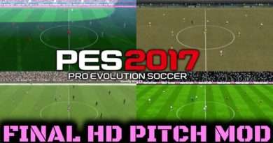 PES 2017 | FINAL HD PITCH MOD FOR ALL PATCHES