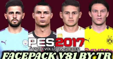 PES 2017   FACEPACK V81 BY TR   DOWNLOAD & INSTALL