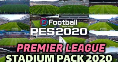 PES 2020 | PREMIER LEAGUE STADIUM PACK 2020 | DOWNLOAD & INSTALL