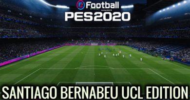 PES 2020 | NEW SANTIAGO BERNABEU STADIUM | CHAMPIONS LEAGUE EDITION | DOWNLOAD & INSTALL