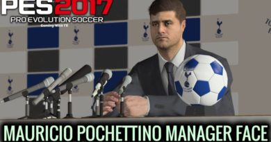 PES 2017 | MAURICIO POCHETTINO | NEW MANAGER FACE | DOWNLOAD & INSTALL