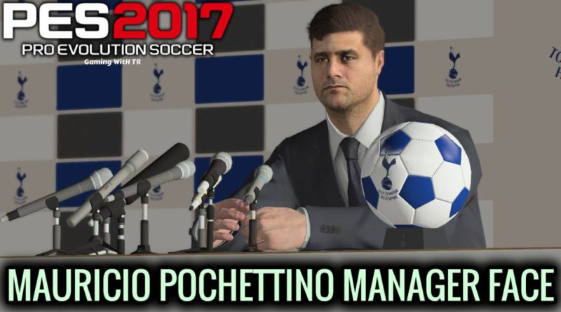 PES 2017   MAURICIO POCHETTINO   NEW MANAGER FACE   DOWNLOAD & INSTALL