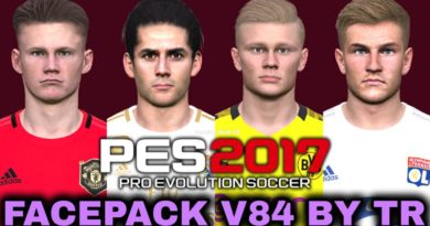 PES 2017   FACEPACK V84 BY TR   DOWNLOAD & INSTALL