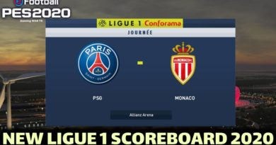 PES 2020 | NEW LIGUE 1 SCOREBOARD 2020 | DOWNLOAD & INSTALL