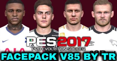 PES 2017 | FACEPACK V85 BY TR | DOWNLOAD & INSTALL