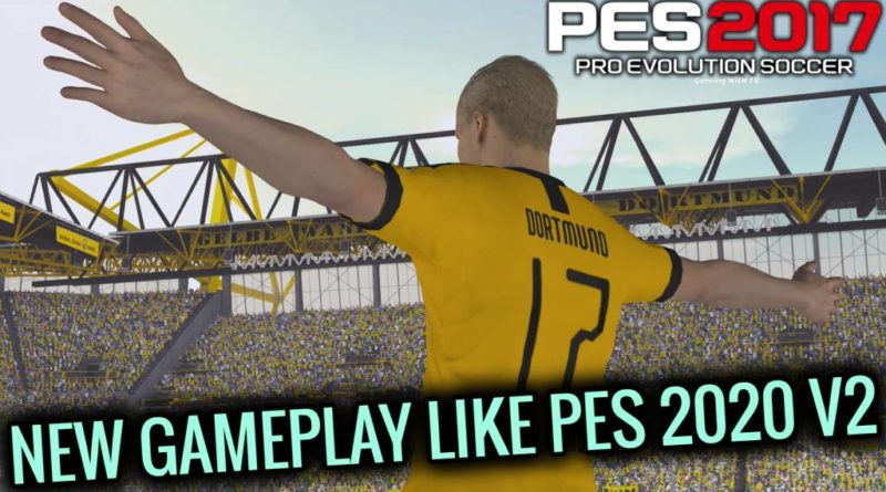 PES 2017 | NEW GAMEPLAY LIKE PES 2020 V2 | DOWNLOAD & INSTALL