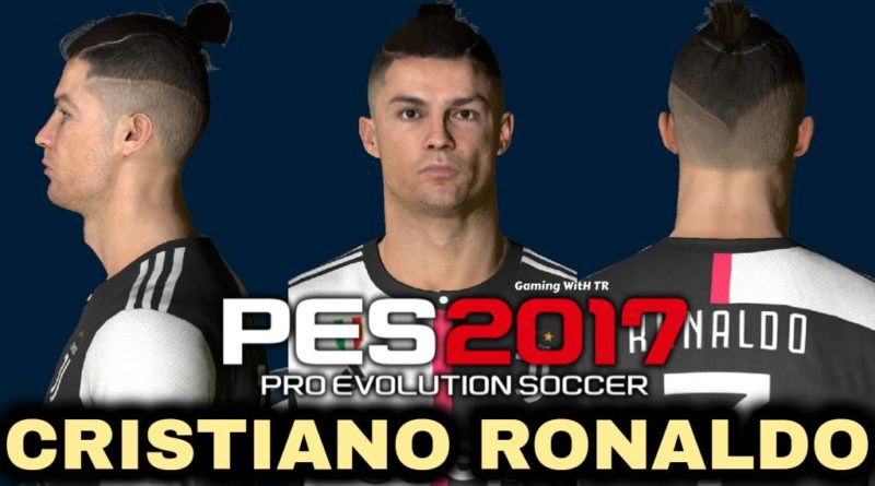 PES 2017 | CRISTIANO RONALDO | NEW FACE & PONYTAIL HAIR | DOWNLOAD & INSTALL