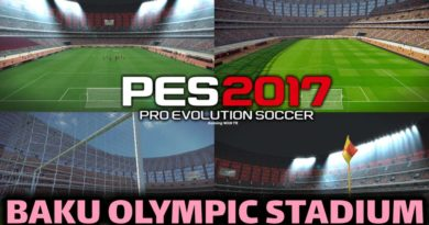 PES 2017 | BAKU OLYMPIC STADIUM | DOWNLOAD & INSTALL