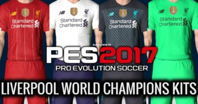 PES 2017 | NEW LIVERPOOL WORLD CHAMPIONS KITS 2020 | DOWNLOAD & INSTALL