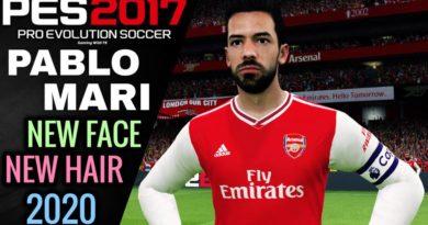 PES 2017   PABLO MARI   NEW FACE & NEW HAIR 2020   DOWNLOAD & INSTALL