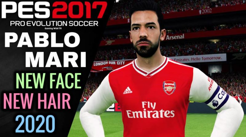 PES 2017 | PABLO MARI | NEW FACE & NEW HAIR 2020 | DOWNLOAD & INSTALL