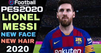 PES 2020 | LIONEL MESSI | NEW FACE & NEW HAIR 2020 | DOWNLOAD & INSTALL