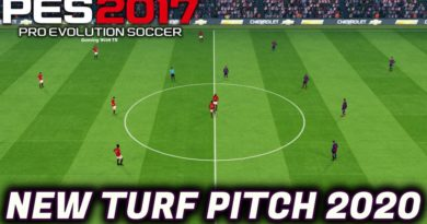 PES 2017   NEW TURF PITCH 2020 LIKE PES 2020   DOWNLOAD & INSTALL