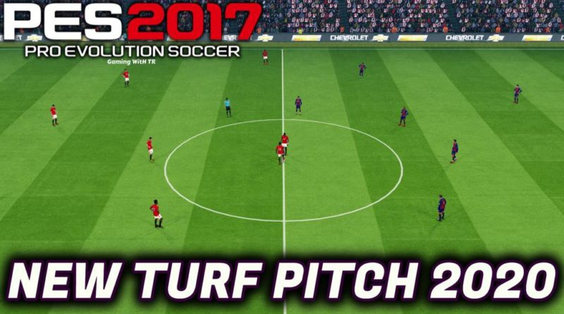 PES 2017 | NEW TURF PITCH 2020 LIKE PES 2020 | DOWNLOAD & INSTALL