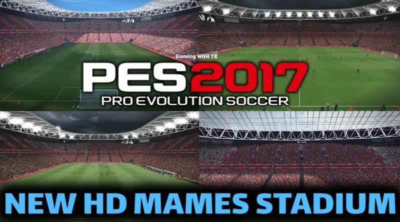 PES 2017 | NEW HD MAMES STADIUM | ATHLETIC BILBAO HOME GROUND